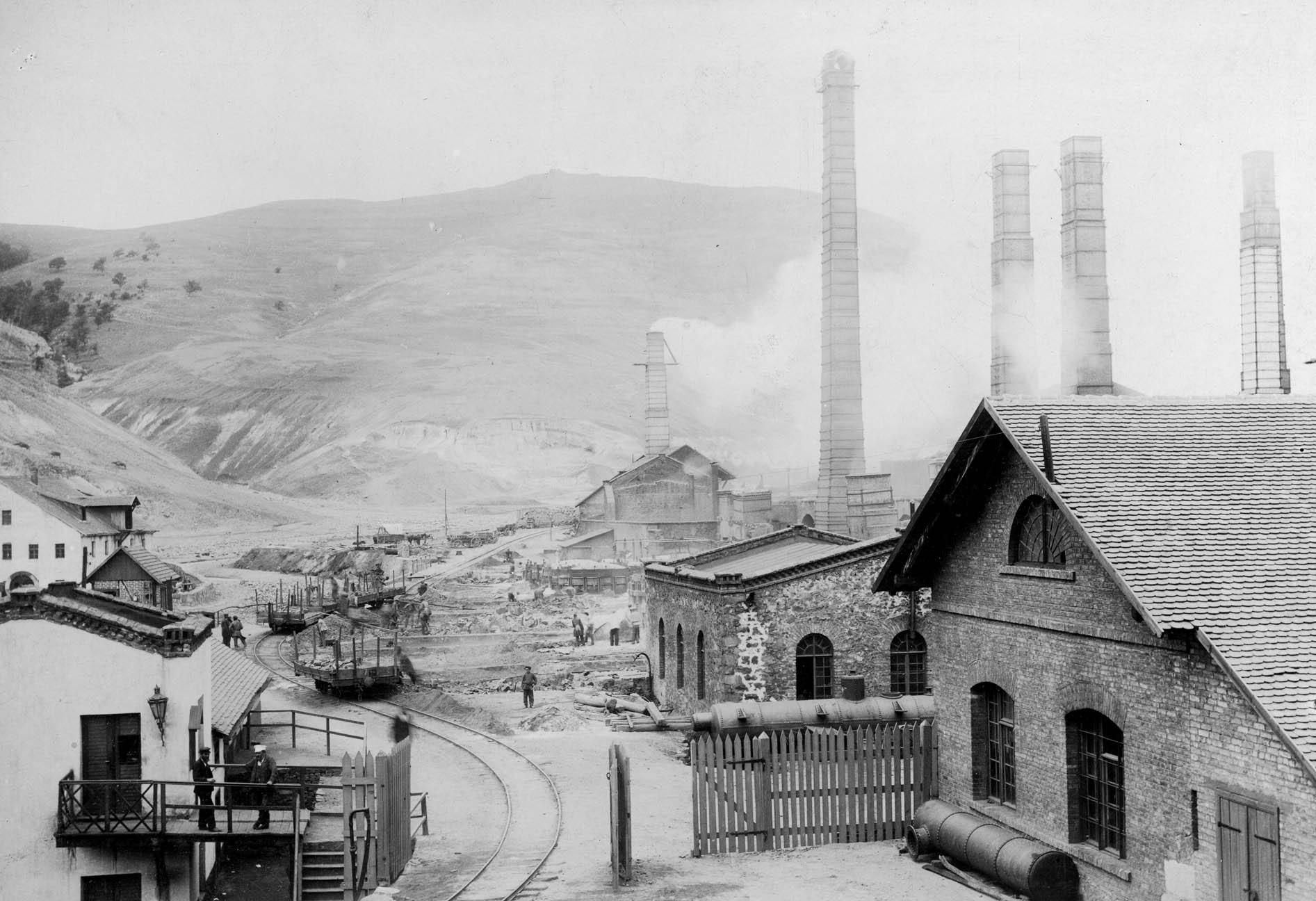 4. smelting works, Kedabeg, 1865